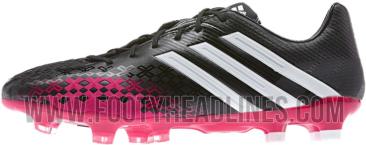 detailed look 46b9f a8d45 Adidas Black / Vivid Berry Predator LZ II Boot Released ...