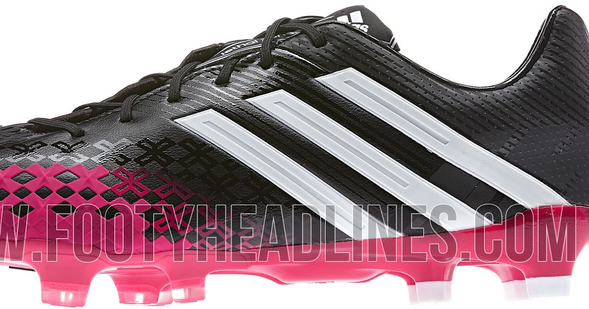 the latest a57f5 8bcc5 Adidas Black   Vivid Berry Predator LZ II Boot Released
