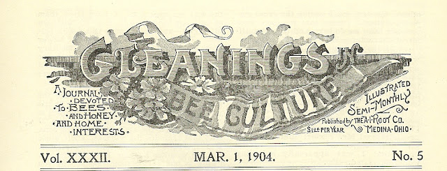 Gleanings in Bee Culture and the Wright Brothers, first issue