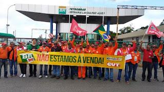 Greve nacional de advertência: Petroleiros decidem realizar greve de 72 horas