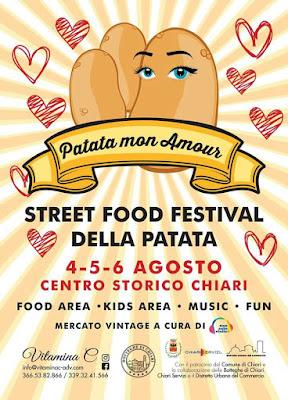 Street Food Festival della Patata 4-5-6 agosto Chiari (BS)