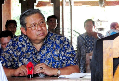 Presiden RI Susilo Bambang Yudhoyono SBY
