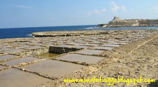 Salinas de Qbajjar, Gozo, Malta