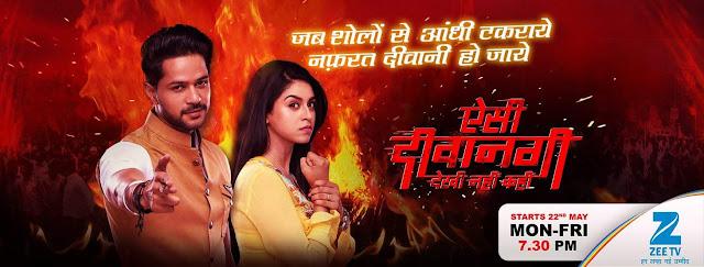 'Aisi Deewanagi Dekhi Nahi Kahi' Upcoming Zee Tv  Serial Wiki