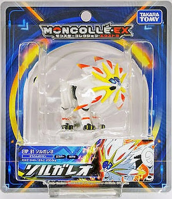 Solgaleo figure Takara Tomy Monster Collection MONCOLLE EX EHP series