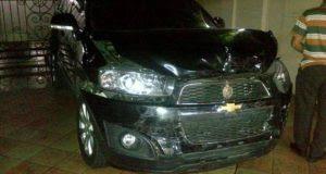 Anak Mantan Menteri BUMN Soegiharto, Tabrak Mobil Kartika Putri