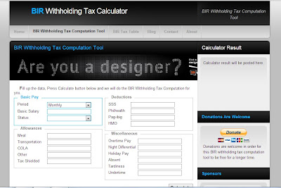 Deduction Calculator