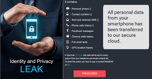 New Ransomware Threatens to Send Your Internet History & Private Pics to All Your Friends