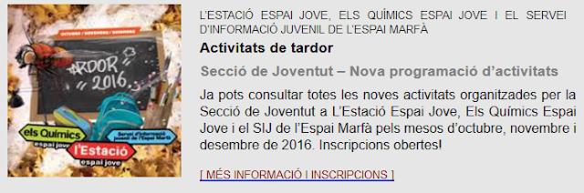 http://www2.girona.cat/documents/11622/165939/Joventut_tardor_2016.pdf