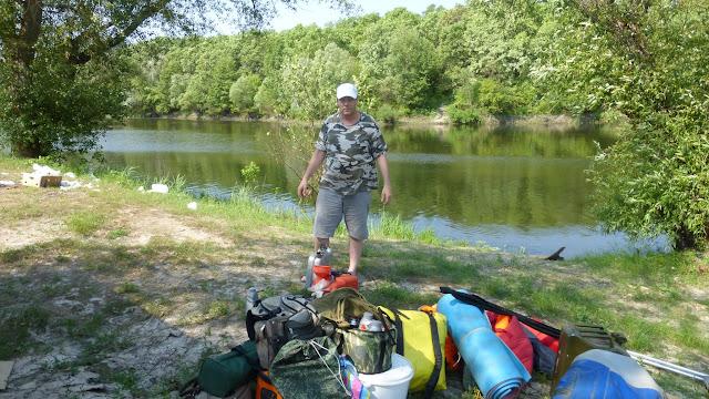 18 Щука и голавль на реках Хопер и Ворона, ловля щуки Рыбалка на Хопре