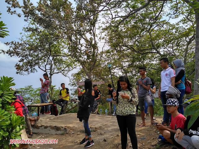 Wisata bukit Watudodol Banyuwangi.