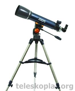 Celestron 22065 astromaster 102az teleskop incelemesi