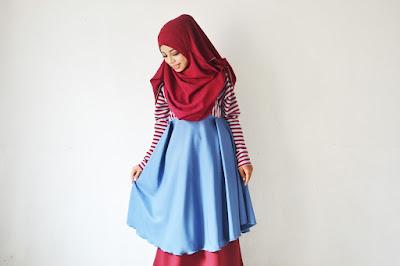 4 Cara Mengenakan Hijab Untuk Wajah Bulat