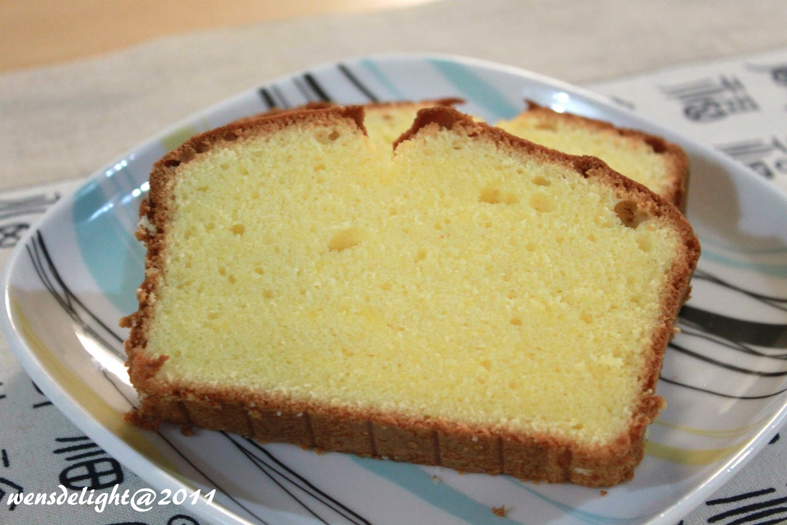 Yellow Butter Cake Recipe From Scratch