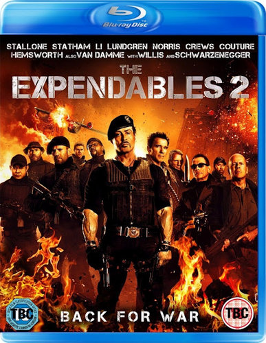 The Expendables 2 2012 Dual Audio 720p BRRip 500MB HEVC
