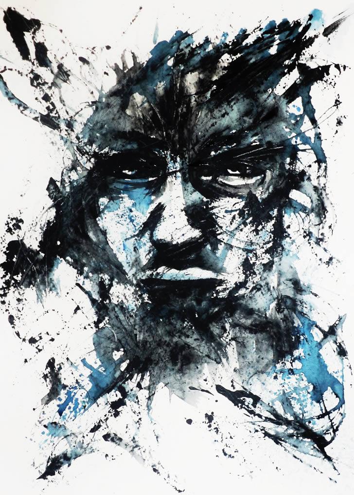 Amazing Ink Swish Art