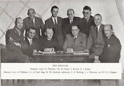 Het bestuur van v.v. Olympia '25