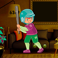 AvmGames - Cute Baseball Boy Escape Game