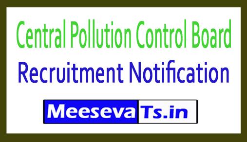 Central Pollution Control Board CPCB Recruitment