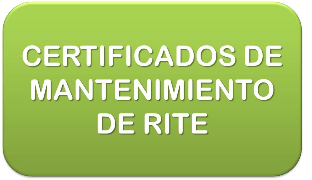 CURSO RITE-2007 - REGLAMENTO MODELOS DE CERTIFICADOS DE - modelos de certificados