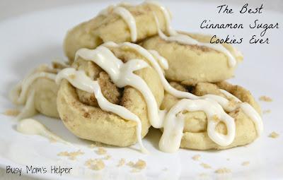 The Best Cinnamon Sugar Cookies Ever