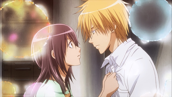 Rekomendasi anime romance comedy kedua - Kaichou wa Maid-sama!
