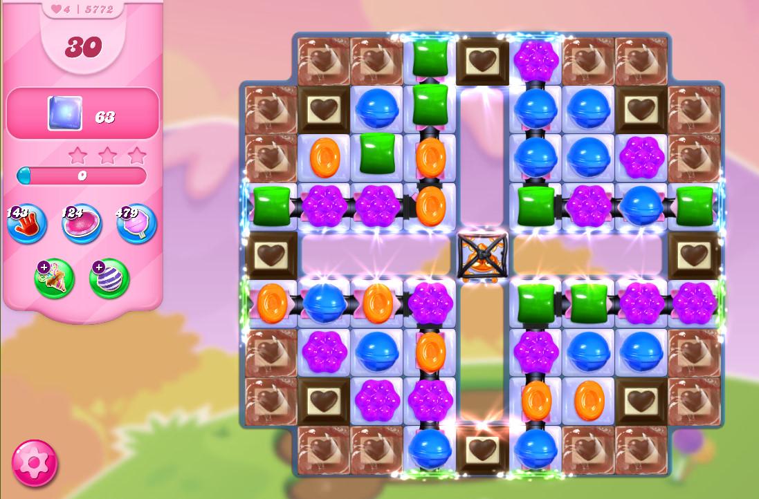 Candy Crush Saga level 5772