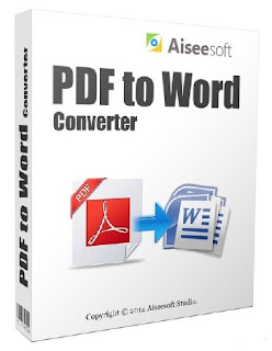 Aiseesoft PDF to Word Converter 3.3.10 Crack, Registration Code, Serial Full Free Download