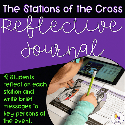 Stations of the Cross booklet by Sugar Cube Learning Resources
