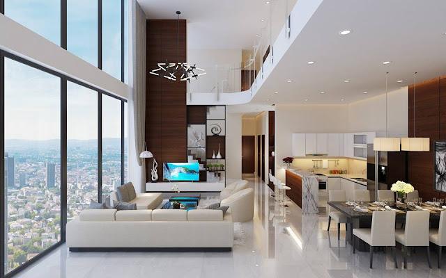 Thiết kế căn hộ Duplex tại Mỹ Đình Pearl