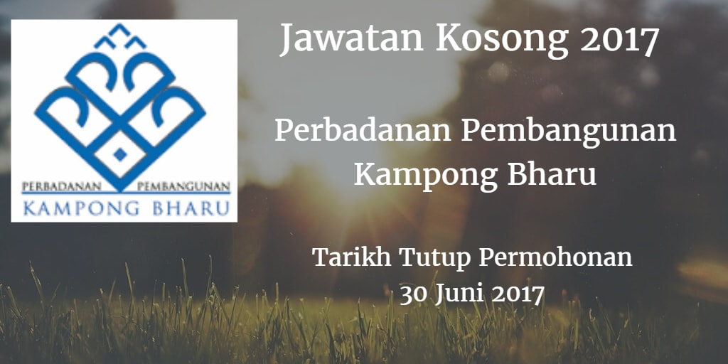 Jawatan Kosong PKB 30 Juni 2017