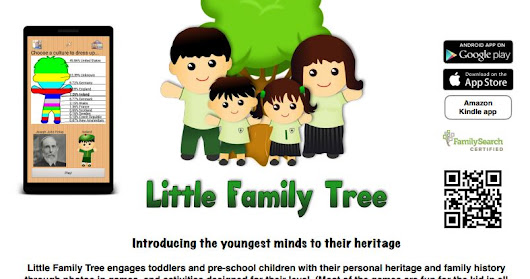 Little Family Tree Teaches Children Family History ~ Saving Stories