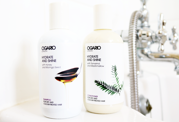 Ogario Hydrate And Shine Shampoo & Conditioner review