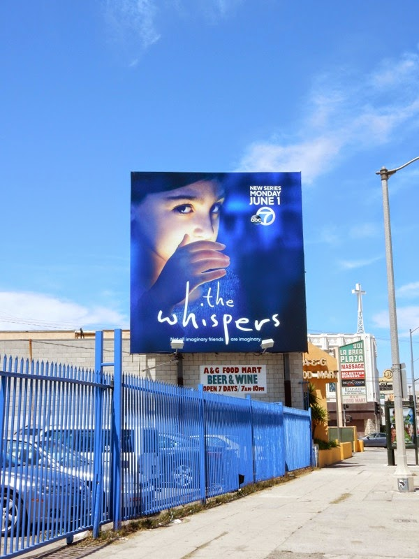 The Whispers series premiere billboard