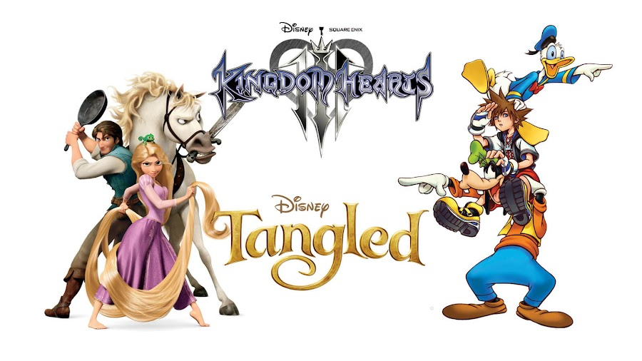 kingdom hearts 3 tangled ps4