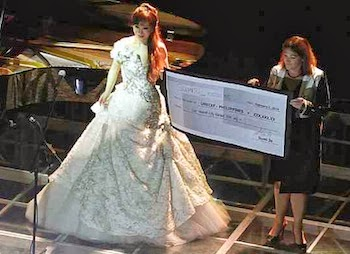 Opera Fresh Sumi Jo Donates Us 10 000 To Unicef After Philippines