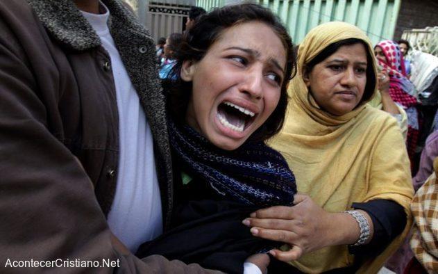 Mujer cristiana pakistaní