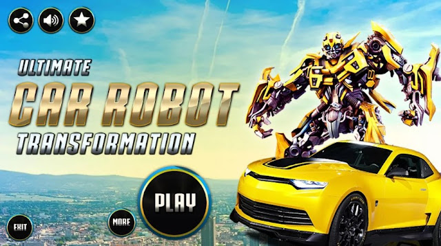 Grand Robot Car Transform 3D Games