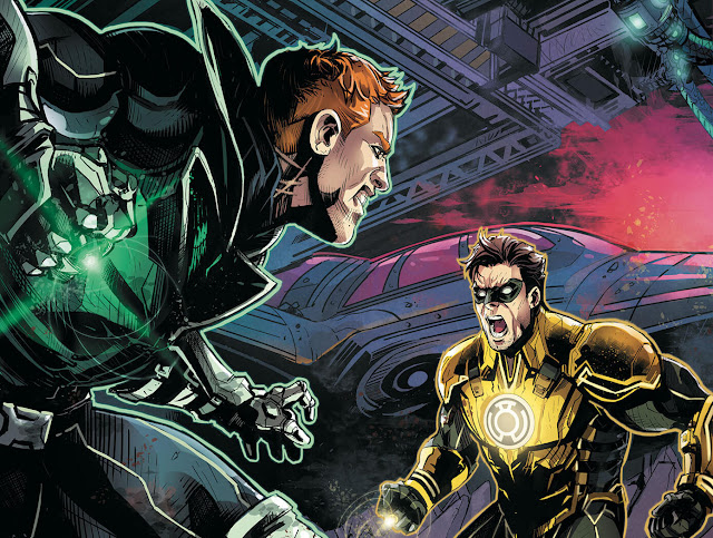 green lantern hal jordan vs guy gardner
