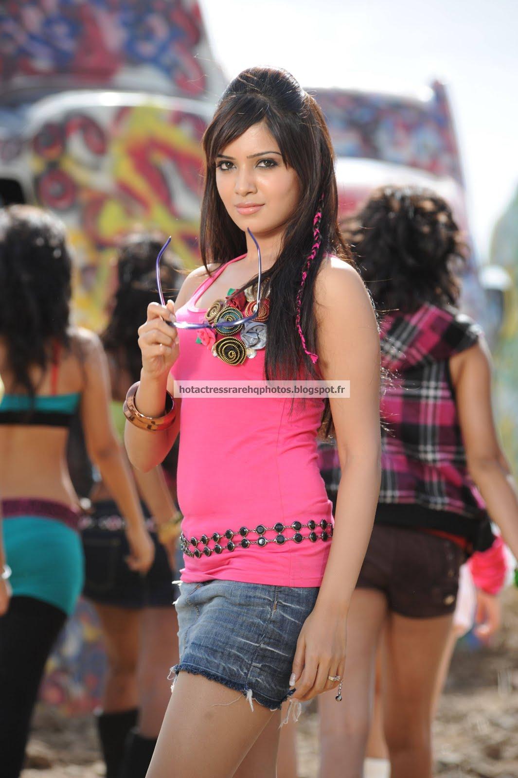 Samantha In Saree: Hot Indian Actress Rare HQ Photos: Actress Samantha Ruth