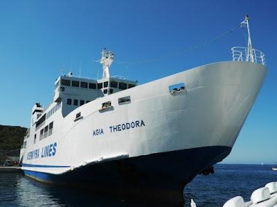 """Ηγουμενίτσα: Εμπλοκή κάβου στο πλοίο """"Αγία Θεοδώρα"""""""