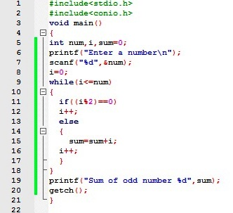 Program: Write a program to print fibonacci series.