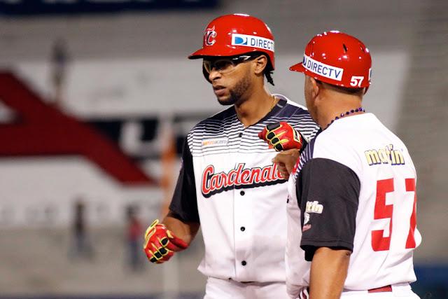 Henry Urrutia redondea sus números y va construyendo una campaña memorable ofensivamente con los Cardenales de Lara en la Liga Venezolana de Béisbol Profesional.
