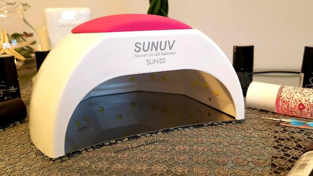 Lampa SunUV Sun2 czyli lampa do hybryd i żeli