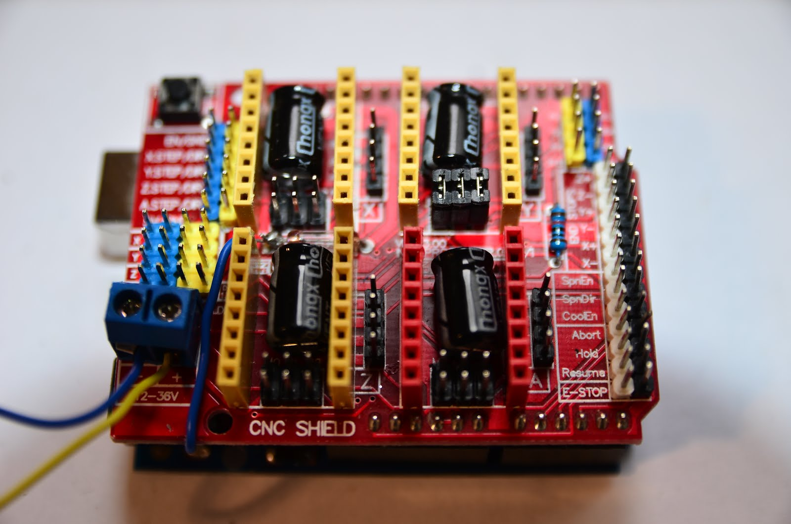 Arduino CNC shield control Stepper motor with DRV8825 on
