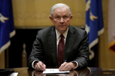 U.S. Attorney General Jeff Sessions: lied on Russian links