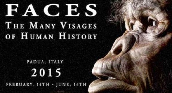 'Faces: The Many Visages of Human History' at the University of Padua, Italy
