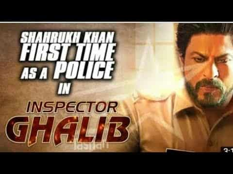 Shahrukh Khan can be seen in the movie for the first time as a police inspector!