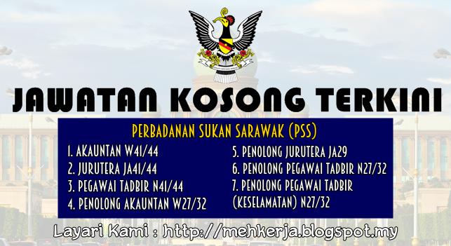 Jawatan Kosong Terkini 2016 di Perbadanan Sukan Sarawak (PSS