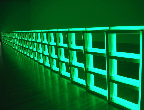 Shed Some Light Beyond The Sun Dan Flavin